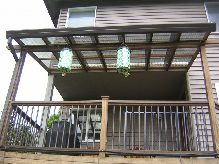 Deck suncover